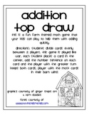 Addition Game: Top Draw