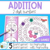 Two Digit Addition with and without Regrouping Bundle