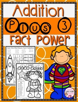 Addition Worksheets Add by 3 by Count on Tricia | TpT