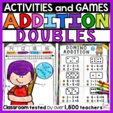 Doubles Facts - First Grade Addition