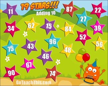 Addition Games - Nim - A Game of Basic Addition Facts & Fun