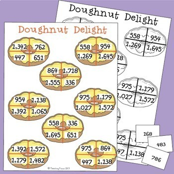Three and Four Digit Numbers with Regrouping