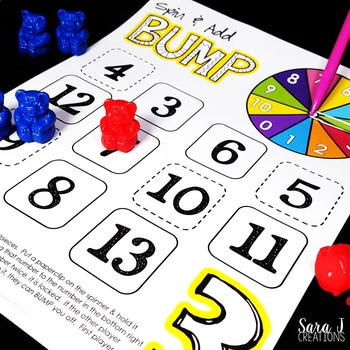 Addition Fact Fluency Games