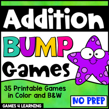 Addition Games for Fact Fluency