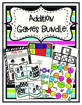 Addition Games Bundle