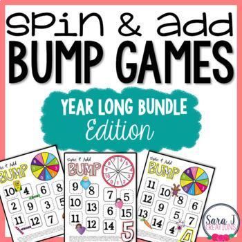 Addition Fact Fluency Games Bundle