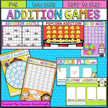 Addition Games Mega Pack