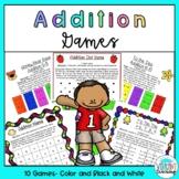 Addition Games- No Prep Math
