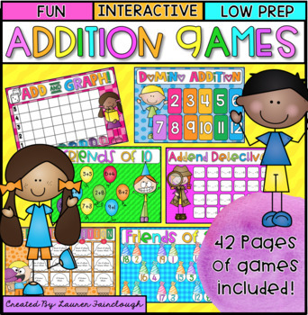 Addition Games Pack 2
