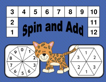 Addition Games: Sums from 1 to 12