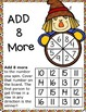 Fall Activities: Differentiated Addition Games for Additio