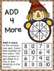 Fall Activities: Differentiated Addition Games for Addition Fact Fluency