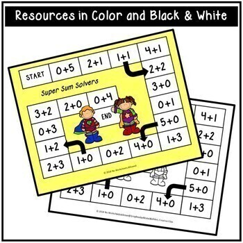 Superhero Addition Games and Activities