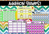 Addition Games to 10 and 20 - 5 Games for Kindergarten / Prep