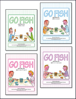 Addition Go Fish ♥ BUNDLE ♥