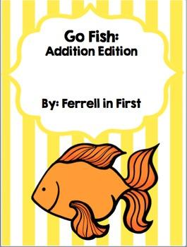 Addition: Go Fish game