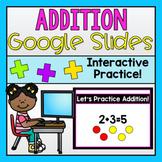 Addition Google Slides (Distance Learning)