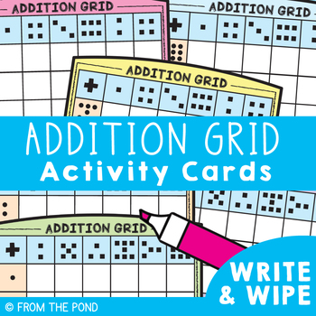Addition Grid Activity Cards