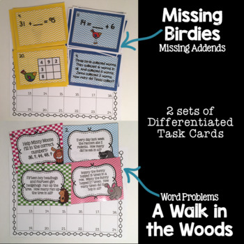 Addition Guided Math Task Cards