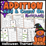 Addition {Halloween} Kindergarten