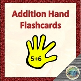 Addition Hand 'flashcards' for Kinesthetic Learners