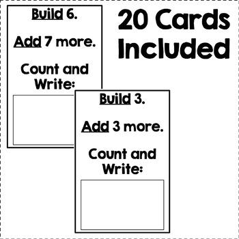 Addition Hands-On Activity (Within 20)