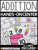 Addition Hands-On Center: Birthday Theme