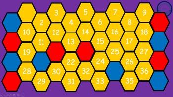 Addition Hexagon Battle 0-20