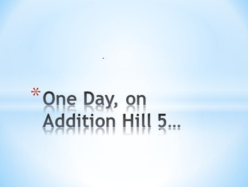 Addition Hills, Rolling Rumblers powerpoint