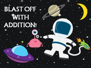 Addition Hunt Through Space!