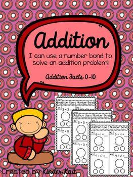 Addition {I Can Use a Number Bond to Solve}