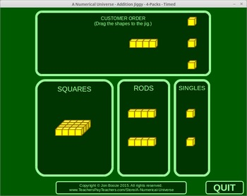 Addition Jiggy : Place Value Addition with Carrying Concept Game