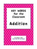 Addition Key Words