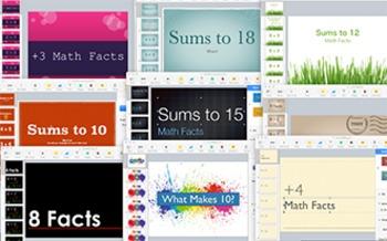 Addition Keynotes Bundle: 11 Leveled Keynotes to Learn Addition