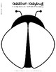 Addition Ladybug Craftivity