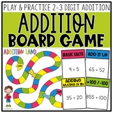 2-3 Digit Addition Board Game