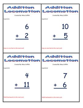 Addition Locomotion