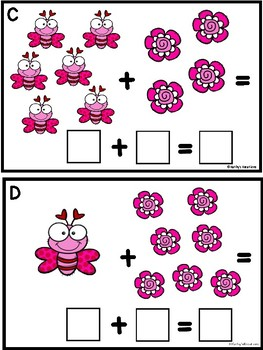 Addition Love Bugs Sums To 10