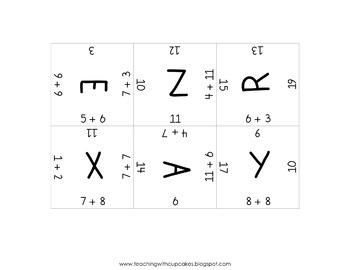 Addition Magic Square Puzzles