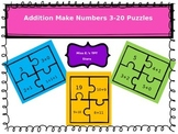Addition Make 3 through 20 Puzzles