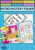 Addition Mastery Folder