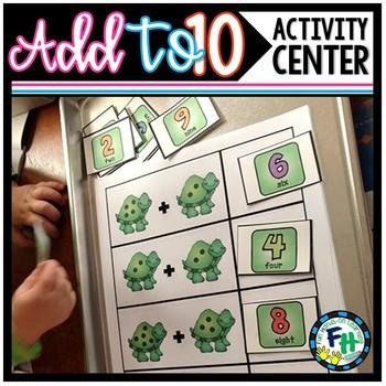 Addition Match Center Activity