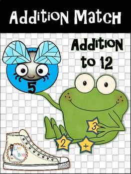 Addition Match - Addition To 12
