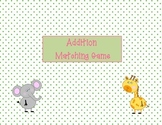 Addition Match/ Concentration Game