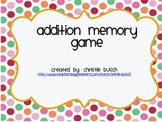Addition Match Game