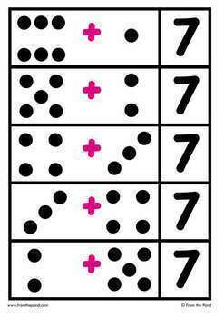 Addition Game {Addition Match} Printable Math Center