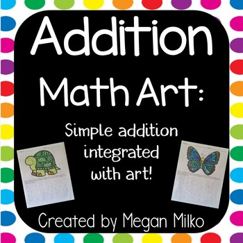 Addition Math Art