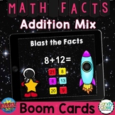 Addition Math Boom Cards™: Comprehensive Mixed Facts Set f