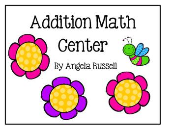 Addition Math Center