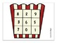 Addition Math Center (Facts to 10): Movie Night
